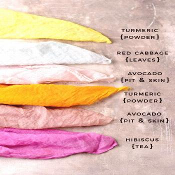 How to make natural dyes for fabric – a few beautiful and colorful experiments