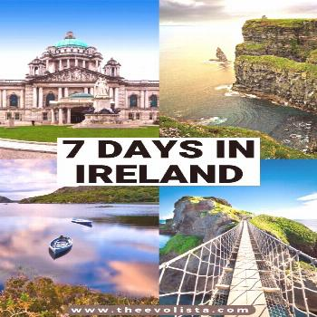 The Ultimate 7 Day Ireland Road Trip Itinerary 7 Days In Ireland Itinerary | Ireland Travel Guide |