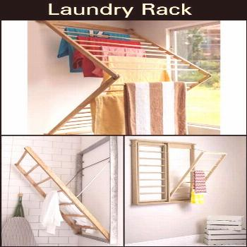 This is a Great Concept For Building a Clothes Drying Rack. It's Made From R… Ceci est un excelle