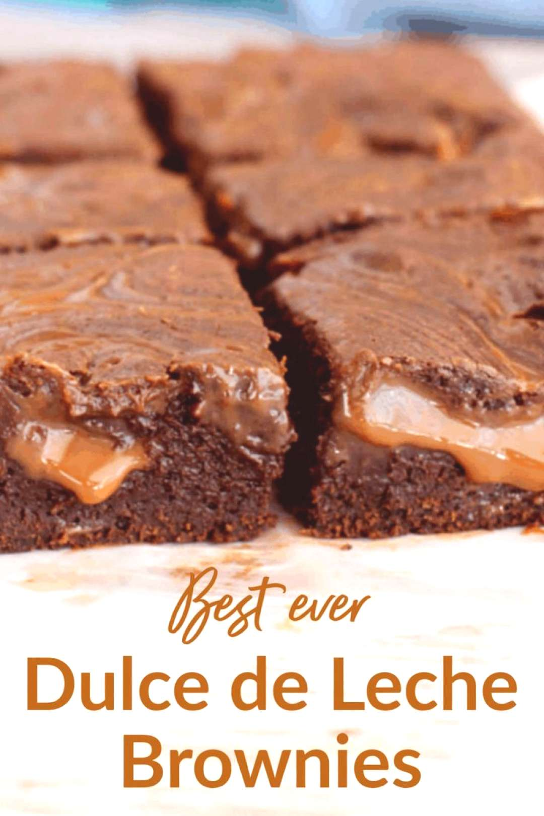 Fudgy, gooey, and irresistible, this is the best recipe for Dulce de Leche Brownies youll ever mak